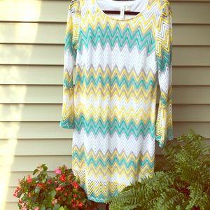Tacera crochet dress. Like new!
